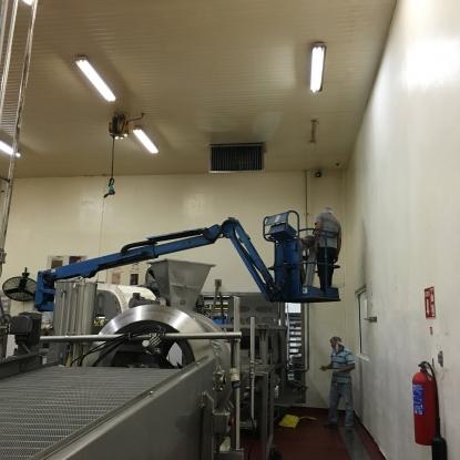 Planta procesadora de alimentos