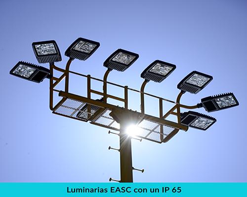 Grados de protección en luminarias